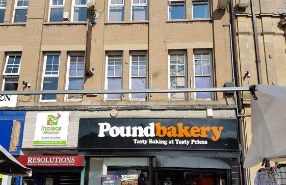 26-29 Market Place – Shoe Zone (26), Pound Bakery (29)