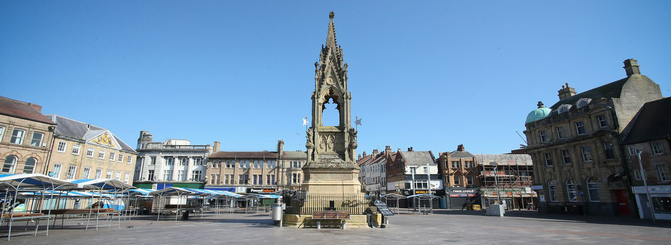 Market Place: the heart of Mansfield