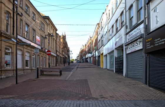 Mansfield Townscape and Covid-19